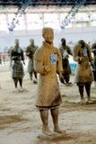 The Terracotta warriors museum in Xian city Stock Photo