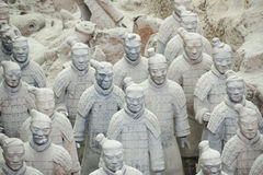 Terracotta Warriors Stock Photos