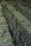 Terracotta Warriors Xi'an China Royalty Free Stock Photography