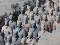 Terracotta warriors - XiAn, China Stock Photo