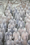 The Terracotta Warriors, Xian, China Royalty Free Stock Photo