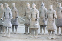 Terracotta warriors Stock Image