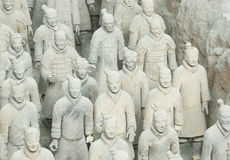 Terracotta warriors Royalty Free Stock Image