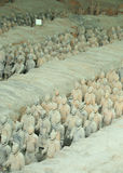 Terracotta warriors Royalty Free Stock Photography