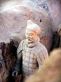 Terracotta Warriors in Xian, China Stock Photography