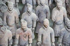 Terracotta warriors, Xian, China Stock Image