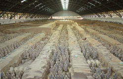 Terracotta Warriors from Xian Royalty Free Stock Photo