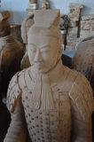 Terracotta Warriors from Xian Royalty Free Stock Photography