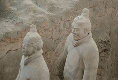 Terracotta Warriors from Xian Stock Photography
