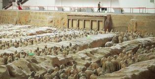 Terracotta Warriors from Xian Stock Photos