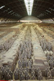 Terracotta Warriors from Xian Stock Images