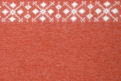 Terracotta wool texture. With  picture Royalty Free Stock Photography