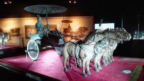 Terracottablokkenwagen Royalty-vrije Stock Afbeelding