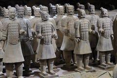 Terracottaleger Royalty-vrije Stock Afbeeldingen