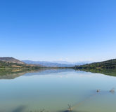 Terradets reservoir, in Catalonia, Spain Royalty Free Stock Image