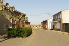 Terradillos de los templarios, castilla y leon, camino de Santiago Stock Photo