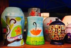 Terraglie Colourful fotografia stock