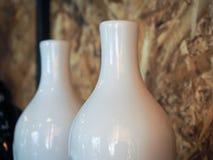 terraglie come il vaso bianco Fotografie Stock