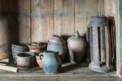 Terraglie del cinese tradizionale Immagini Stock