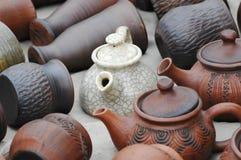 Terraglie dell'ornamento Fotografie Stock