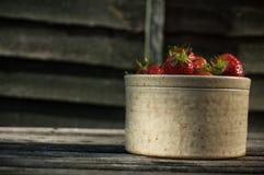 Terraglie delle fragole Immagine Stock Libera da Diritti