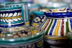 Terraglie di ceramica Fotografia Stock