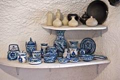 Terraglie di ceramica spagnole fotografia stock