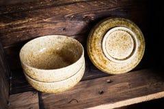 Terraglie giapponesi Immagini Stock