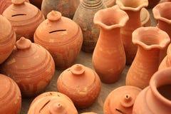 Terraglie indiane Immagini Stock