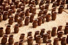 Terraglie nel Nepal, terraglie Fotografia Stock Libera da Diritti