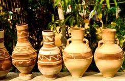 Terraglie nell'Egitto fotografie stock libere da diritti