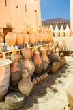 Terraglie Nizwa, Oman Fotografia Stock