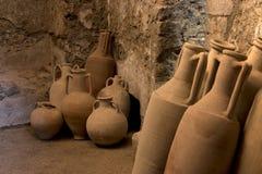 Terraglie a Pompei Immagini Stock Libere da Diritti
