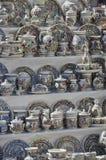 Terraglie rumene Fotografia Stock