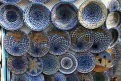 Terraglie tunisine Immagini Stock Libere da Diritti