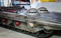 Terrahawks Battletank model Zdjęcie Stock