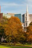 Terrain communal de Boston Image stock
