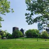 Terrain communal de Boston Image libre de droits