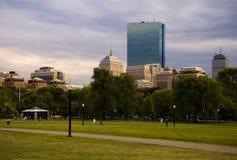 terrain communal de Boston Images libres de droits