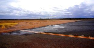 Terrain d'aviation de Renmark Photographie stock libre de droits
