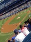 Terrain de base-ball image libre de droits