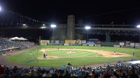 Terrain de base-ball, stade de base-ball, stade banque de vidéos