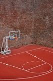 Terrain de basket Photographie stock
