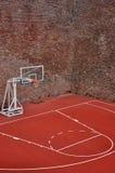 Terrain de basket photographie stock
