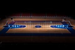 Terrain de basket Image libre de droits