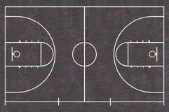 Terrain de basket Photos libres de droits