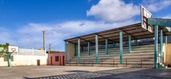 Terrain de basket Cuba de Baracoa Photos libres de droits