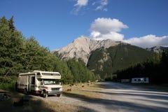 Terrain de camping Photo libre de droits