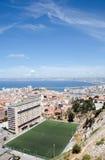 Terrain de football à Marseille Image stock