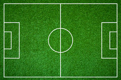 Terrain de football Image stock